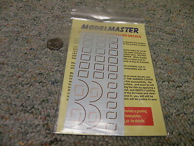 Modelmaster  decals OO 4mm HO #4081C Loco coaching stock lining BR GWR     D39