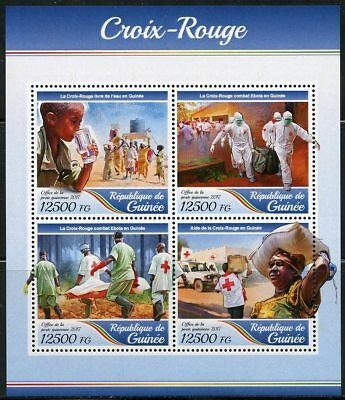 Guinea 2017 Red Cross Sheet Mint Never Hinged