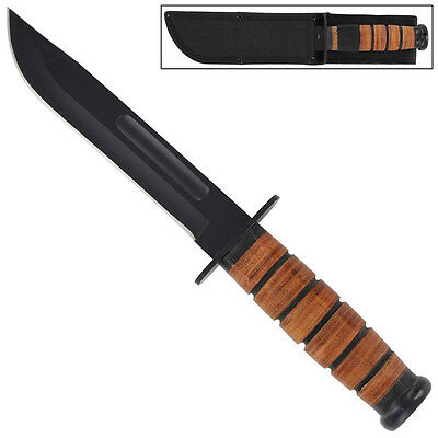 Defense Battalion Military Fixed Blade Utility Survival Knife