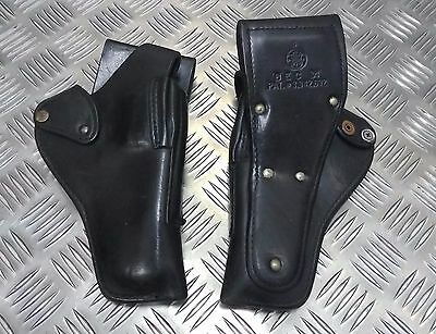 Original polizei-problem Smith & Wesson oder Gould & Goodrich Leder Last Holster