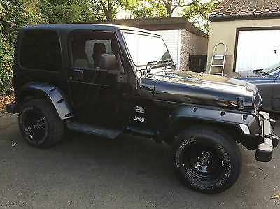 2006 55 Jeep Wrangler 4.0 auto Sahara with air conditioning, £245pa road tax