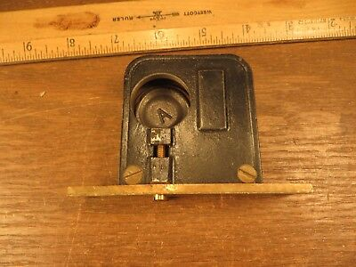 Small Vintage RUSSWIN Mortis Lock Set