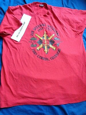 "AIR DEFENSE ARTILLERY/"" EMPEROR OF BATTLE/""*U.S.ARMY VETERAN W//ARMY EMBLEM*SHIRT"