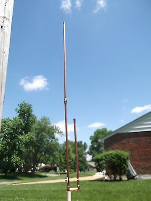 2 Meter Dual Band Collapsible Copper J Pole Antenna- Free shipping included