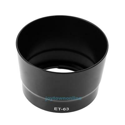 ET-63 Bayonet Lens Hood Shade Mount for Canon EF-S 55-250mm f/4-5.6 IS STM
