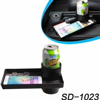 Car Seat Snack Tray Cup Holder Food Drink Bottle Mount Stand Storage Organizer