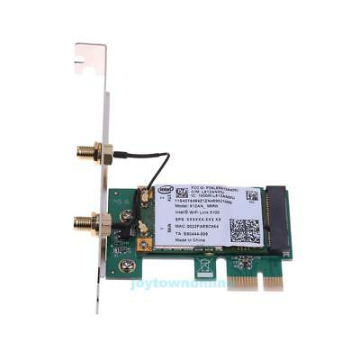 300M 2.4G/5G Dual Band WiFi Wireless PCIE X1 Adapter Desktop Card for Intel 5100