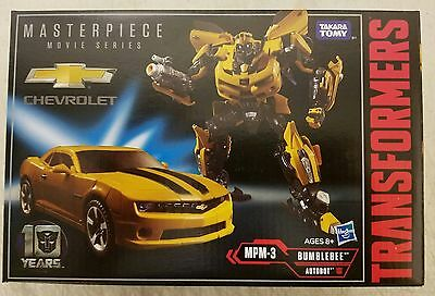 Transformers Movie Masterpiece MPM-3 MPM-03 Bumblebee IN STOCK IN USA NOW!