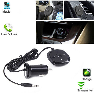 Car FM Transmitter Bluetooth Handsfree AUX MP3 Player Radio Adapter Charger Kit