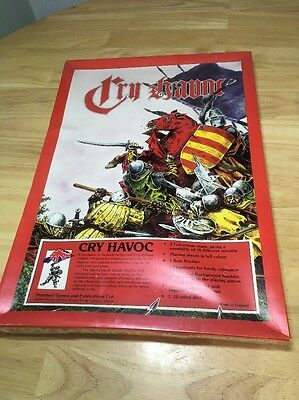Rare Vintage Fantasy Board Game Standard Games Cry Havoc 1970s Sealed Rare G1