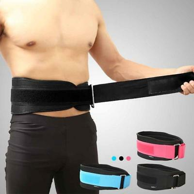 Weight Lifting Belt Men Lady Gym Fitness Lycra Breath Back Support Training Belt
