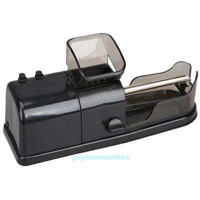 Black Electric Tobacco Smoking Roller Maker Automatic Cigarette Rolling Machine