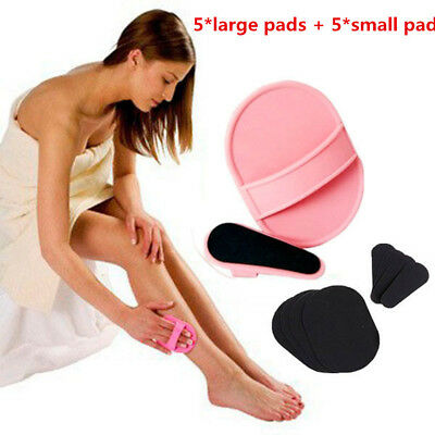 90g Shiny Legs Hair Removal Pads Smooth Skin Legs Arms Lips Painless Exfoliator