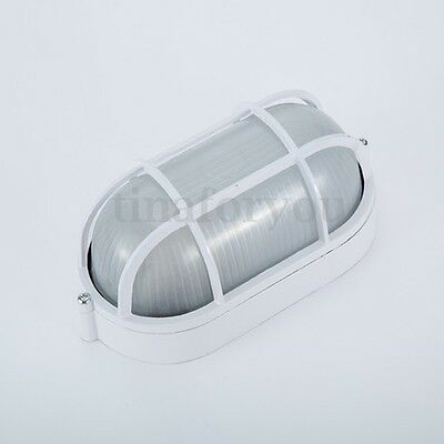 Vapor-proof Sauna and Steam Room Light Lamp with Oval Metal Guard Accessories