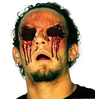 Blinded Eye Sockets Latex Scar Application Gruesome Halloween Horror