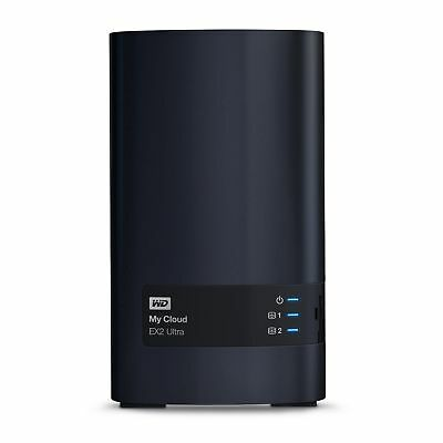 WD My Cloud EX2 Ultra NAS System 2-Bay 8TB (2x4TB)