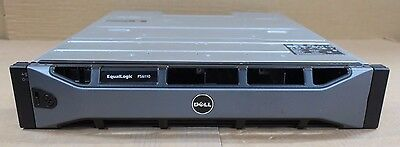 Dell EqualLogic PS6110X Virtualized iSCSI SAN Storage 10GB/10GBe Controllers