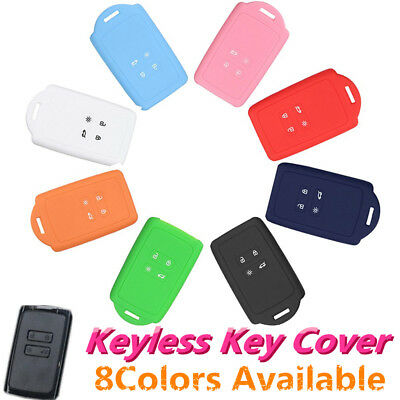 4 Buttons Silicone Remote Key Fob Cover Case For Renault koleos Kadjar 2016 2017