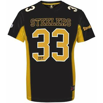 NFL Football Trikot Jersey Shirt PITTSBURGH STEELERS 33 est. Moro Majestic
