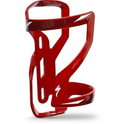 SPECIALIZED RED RIGHT LOADING ZEE ll BOTTLE CAGE CYCLE ROAD MTB BIKE