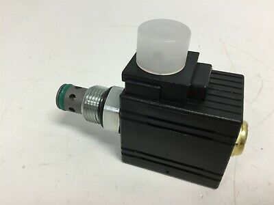 New Parker DSL02CUD024D Solenoid Cartridge Valve, Normally Closed, Voltage 24VDC