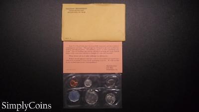 1964 Proof Set ~ Original Envelope With COA ~ US Mint Silver Coin Lot SKU-480
