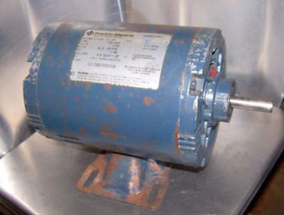 "franklin 1/3 hp electric motor 1725 rpm 1/2"" shaft"
