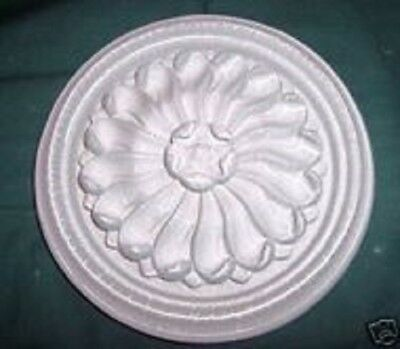 "Victorian decor mold plaster cement accent mould 8/"" x 1//3/"" thick"