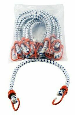 "12 PACK 24"" Bungee Cord HEAVY DUTY Tie Down Rubber Strap Cargo Tarp Elastic NEW"