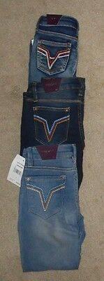 Vigoss Girls Skinny Denim Jeans 3 colors Sizes 4 5 6 7 or 10 NWT