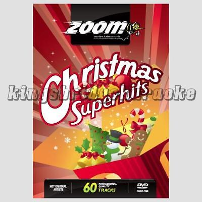 Zoom Karaoke DVD - Christmas Karaoke Superhits - 60 Great Tracks on 2 DVDs Xmas