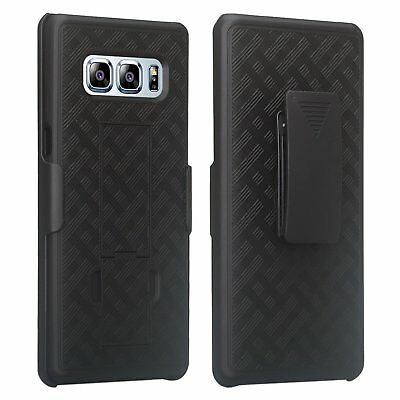 Samsung Galaxy Note 8 Belt Clip Holster Cell Phone Case with Kick Stand Cover