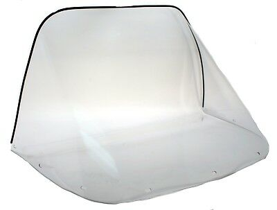 "Ski-Doo Elan 250, 1972 1973 1974 1975, 14"" Clear Windshield - NEW"
