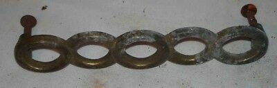 Antique Vintage Lot Of 1 Metal Drawer Cabinet Pull Handle Knob