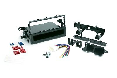 Dash Kit for Single Din Stereo Radio Replace Install W Wire Harness Connectors