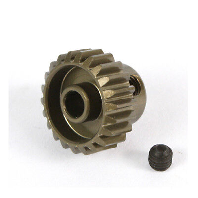 21T Titanium coated aluminium 48dp pinion gear for 1:10 RC  21 tooth 48 pitch.