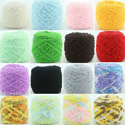 100g/Ball Coral Fleece Yarn Cotton Wool Yarn For Knitting Baby Scarf Hat Sweater