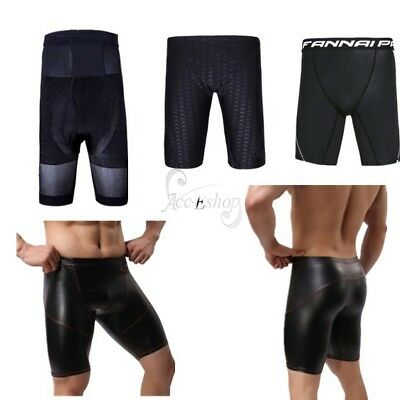 Men's Sports Compression Underwear Running Fitness Tight Short Pants Boxer Brief