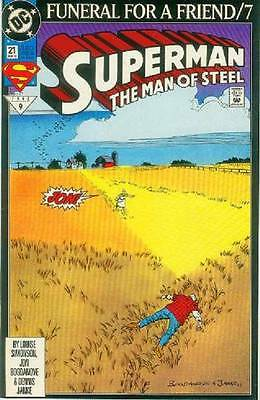 Superman: Man of Steel # 21 (Funeral For a Friend part 7) (USA, 1993)