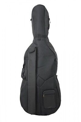Petz well crafted Cello case in 5 Sizes 15mm Foam padding Bag f Cello