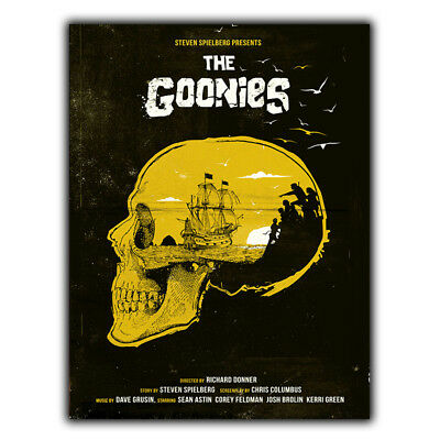 METAL SIGN WALL PLAQUE THE GOONIES Movie Film at poster man cave cinema room