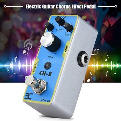 ENO EX CH-2 Electric Guitar Chorus Effect Pedal Metal Shell True Bypass K4F1