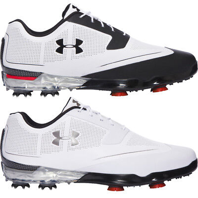 Under Armour 2017 UA Tour Tips Waterproof Mens Spikes Golf Shoes - Leather