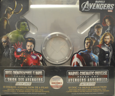 Marvel Cinematic Universe: Phase One - Avengers Assembled [Blu-ray Set Region A]
