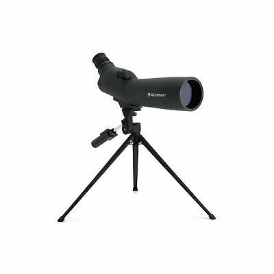 Celestron 60mm 45° Spotting Scope Telescope Watching Birds Table-top Tripod