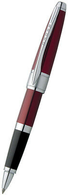 Cross Pens Apogee Rollerball Pen - Titian Red Lacquer