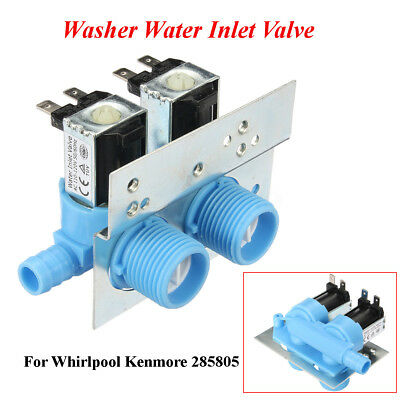Washing Machine Water Inlet Valve Replace For Whirlpool Kenmore Washer 285805