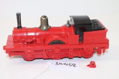 Triang Minic Push & Go M516 Veteran Puffer steam Locomotive Red FNQHobbys SW458
