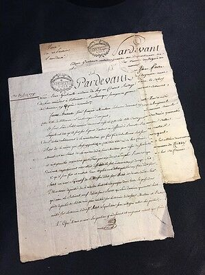 LOT OF OLD DOCUMENTS 1700s