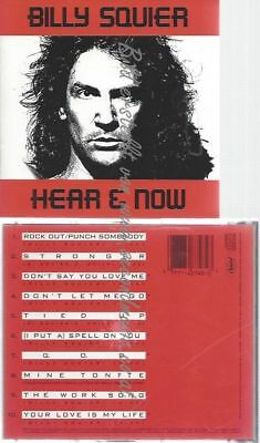 Cd--Billy Squier--Hear And Now